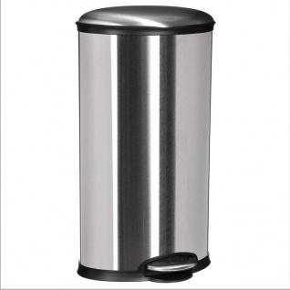 Müllkorb mit Pedal 30L Edelstahl, taupe Farbe - 5five Simple Smart