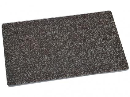Glas-Schneideplatte, Schneidebrett, Küchenbrett, Motiv: Marmor, 40x30x0, 9 cm