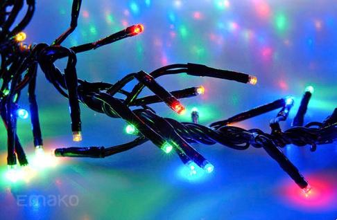 Lichterkette LED MULTIKOLOR 192 Innen und Außen