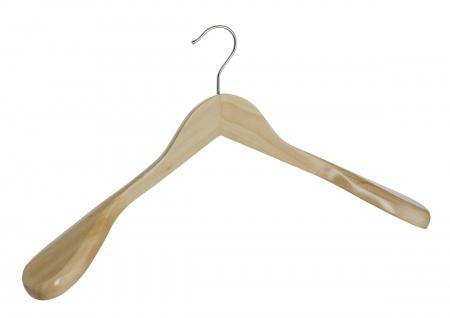 Profilierte Kleiderbügel aus Holz, 45 cm, WENKO