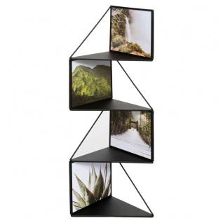 Multirahmen LUNA, 17 x 68 cm, schwarz