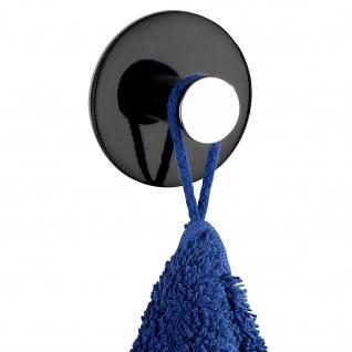 TAMO Handtuchhalter, Farbe schwarz, WENKO