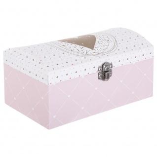 Schatulle für kleine Gegenstände, Schmuck, BOX, 20 x 10 x 12 cm