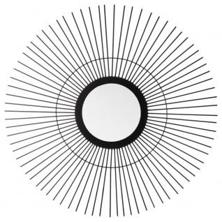 Designer-Wandspiegel, dekorativer Spiegel, SONNE, Ø 59 cm