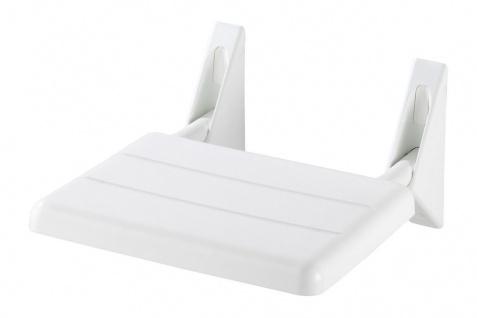 Duschklappsitz Duschsitz Klappsitz Duschhocker zur Wandmontage bis 120kg