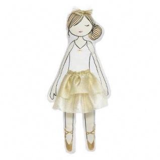 Baby Kuschelmädchen, rosa Kleid, 50 cm - Atmosphera for kids