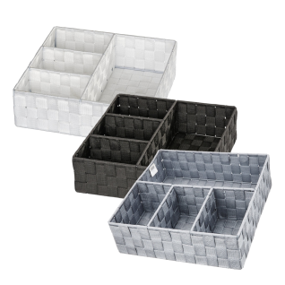 WENKO, Organizer Adria , Badorganizer, 100 % Polypropylen, 32x10x32 cm