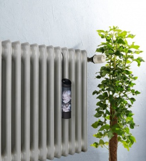 Luftbefeuchter für Kühler, rund, schwarz mit Pfingstrose, WENKO - Vorschau 3