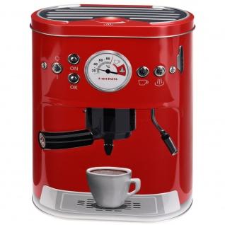 Behälter, Kaffeedose Vintage COFFEE MACHINE, M, verschiedene n