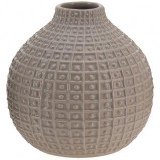 Vase aus Keramik, 18 x Ø 18 cm, verschiedene n