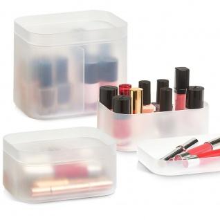 Kosmetik-Box, Organizer für Kosmetik, 3 Stück im Set, ZELLER