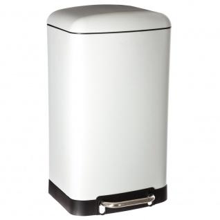 Müllkorb mit Deckelöffnungsfuß, einfacher Behälter mit interessantem Design - 5five Simple Smart