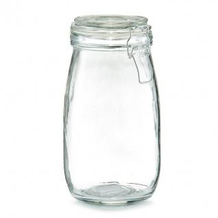 Lebensmittelbehälter, Glas mit Deckel, 1450 ml, ZELLER