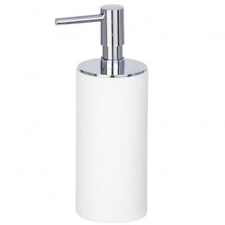 Polyresin Behälter für Flüssigseife, Badspender mit IDA Pumpe - WENKO