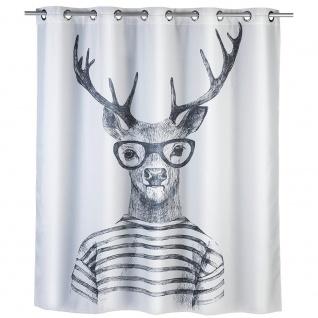 WENKO Duschvorhang Polyester 180 x 200 cm
