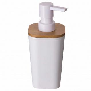Flüssigseifenspender mit Pumpe, Farbe schwarz/weiß