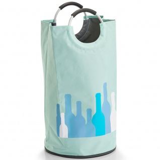 Wäschekorb mit Griffen, Tasche für schmutzige Wäsche, Textilbehälter für das Badezimmer. - ZELLER