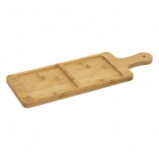 APERITIVE Serviertablett, Brett 43x15 cm, Bambus - Secret de Gourmet