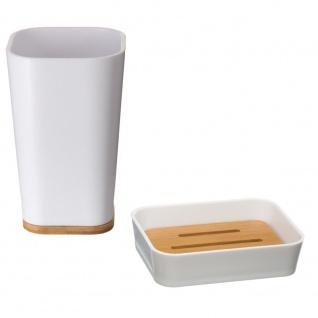 Badezimmerzubehör, Behälter für Zahnbürsten und Seifenschalen - 5five Simple Smart
