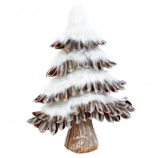 Kleiner Weihnachtsbaum, 50 cm mit Schnee - Fééric Lights and Christmas