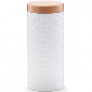 Dekorative Metallbox, Aufbewahrungsbehälter, rund und versiegelt Organizer.