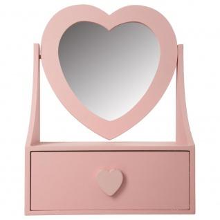 Atmosphera Créateur d'intérieur, Holzschatulle für Schmuck mit einem Spiegel