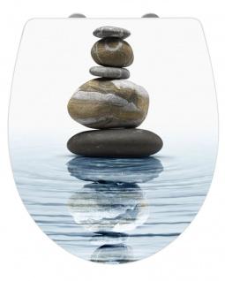 WENKO WC-Sitz Hochglanz Acryl Meditation