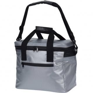Wärmedämmtasche in schwarz, praktische Kühltasche für Tour oder Picknick - Cool