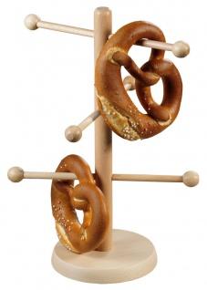 Dekorativer Ständer aus Buchenholz, Tassenaufhänger, Küchenhelfer