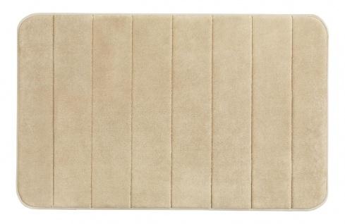 Badezimmer Gloss MEMORY, weiche Matte mit rutschfester Unterseite - 50 x 80 cm, WENKO