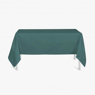 Quadratische Tischdecke, 150x250 cm, dunkelgrün, TODAY - Today