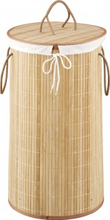 Wäschekorb aus Bambus, 55 Liter, ZELLER - Vorschau 4