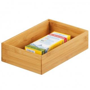 ZELLER Ordnungsbox, Bamboo 23 x 15 x 7 cm