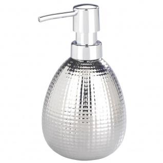 Spender mit Flüssigpumpe, Seifenbehälter im Glamour-Stil - 320 ml, WENKO