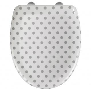 Wenko WC-Sitz, Mehrfarbig, 45 x 38 cm