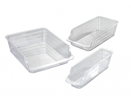 Küchen-Organizer, Lebensmittelbehälter, 3 Stück im Lieferumfang enthalten, WENKO - WENKO