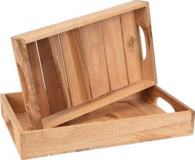 Frühstückstablett - 2 Stück im Set - Home Styling Collection