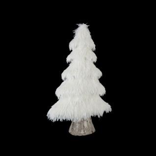 Kleiner Weihnachtsbaum, weiß, 50 cm - Fééric Lights and Christmas