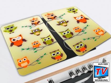 Herdabdeckplatte OWL CONVENTION Glasschutzplatten für den Ofen - 2 Stück, WENKO