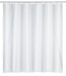 Duschvorhang mit 12 Befestigungsringen PUNTO Wasserdichter Vorhang 200 x 180 cm WENKO