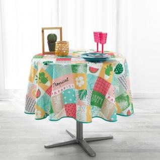 Runde Tischdecke SWEET PARADISE, Ø 180 cm, mehrfarbig