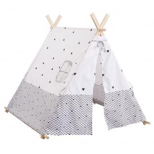 Zelt für Kinder - Holzkonstruktion, 110 x 107 x 106 cm