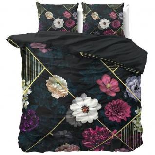 LINLEEZ INDIGO Bettwäsche, Baumwolle, 200 x 220 cm, Dreamhouse - Royal Textil