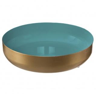 Dekorativer Metallbehälter, praktisches Gadget, ideal für das Wohnzimmer oder für den Flur - Durchmesser 16 cm