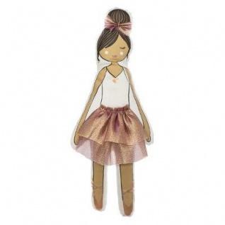 Baby Kuschelmädchen, rosa Kleid, 50 cm - Atmosphera for kids - Vorschau 2