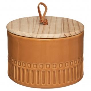 Aufbewahrungsbehälter aus Keramik mit Deckel, Ø 13, 5 cm