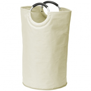 WENKO Wäschesammler Wäschekorb XL Stone