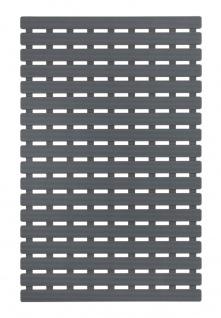Badteppich aus Kunststoff, rutschfeste Badewanneneinlage - 63 x 40 cm, WENKO