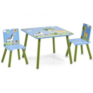 ZELLER Kindertisch SAFARI + 2 Stühle