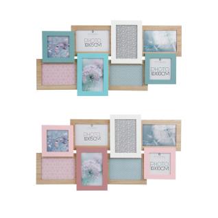 Rahmen für 8 Fotos, GALERIE von Fotos - Multirama 60, 5 x 1, 8 x 32 cm